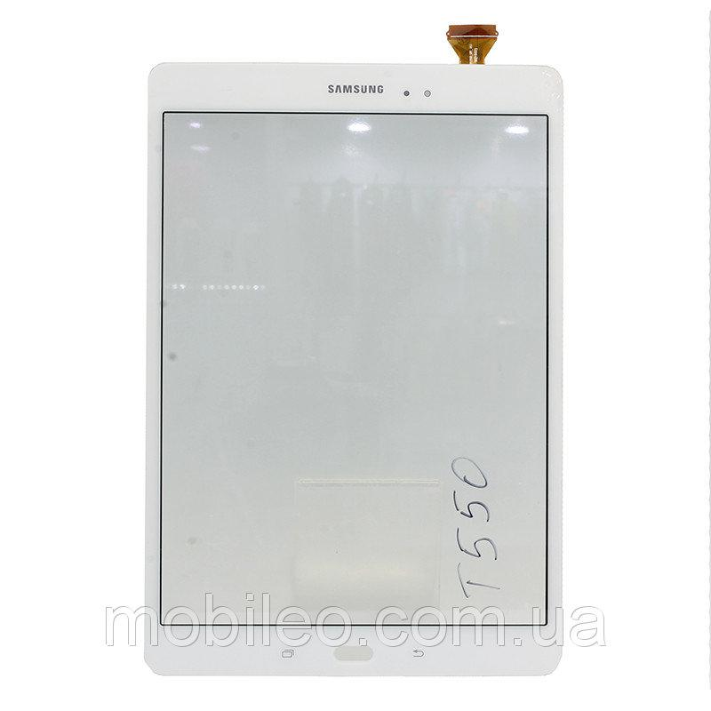 Сенсорный экран (тачскрин) для планшета Samsung T555 Galaxy Tab A 9.7 T550 серый оригинал