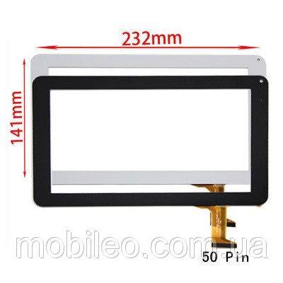 Сенсорный экран (тачскрин) планшет Impression ImPad 9213, #0926A1-HN, (232141), 50pin, черный