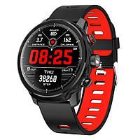 Смарт-часы 35 black+red (Copy Xiaomi Amazfit Stratos)