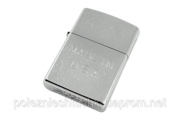Зажигалка Zippo 28491 Made In USA Street Chrome