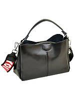 Женская сумка  из натуральной кожи ALEX RAI 10-04 1383 black, фото 1
