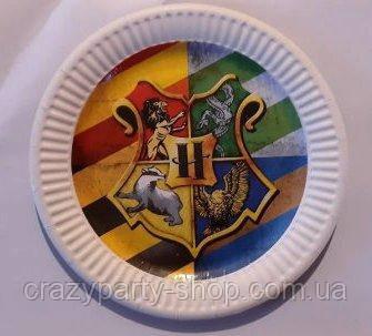 Тарелочка праздничная  Гарри Поттер