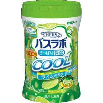 Увлажняющая соль для ванны с освежающим эффектом с гиалуроновой кислотой Hakugen Hers Bath Labo 640 г (226681)