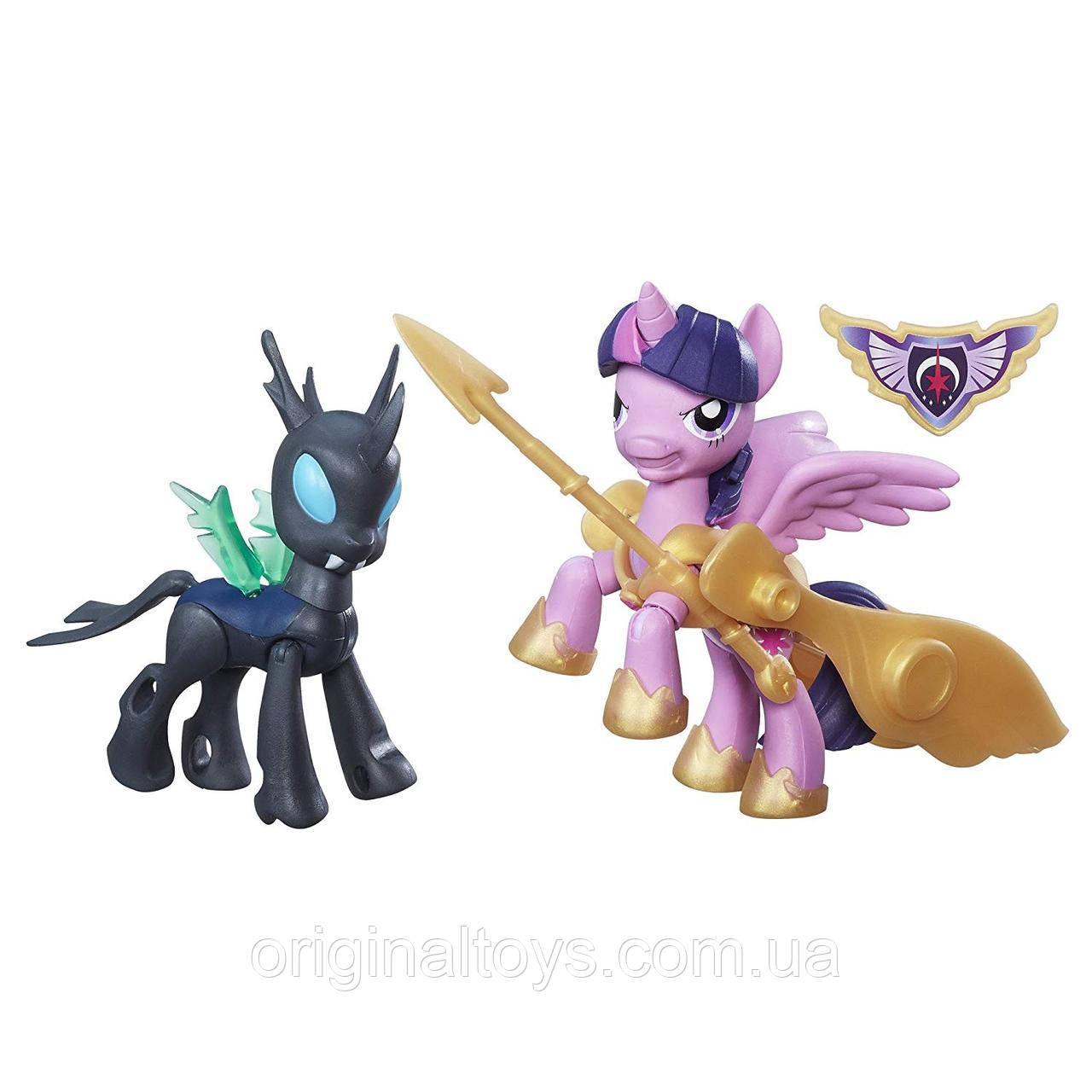 Фигурка My Little Pony Твайлайт Спаркл и Чейнджлинг Стражи гармонии Guardians of Harmony