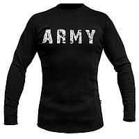 """Футболка утеплённая с рукавами ARMY """"BLACK"""""""