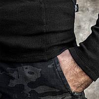 "Футболка утеплённая с рукавами ARMY ""BLACK"", фото 4"
