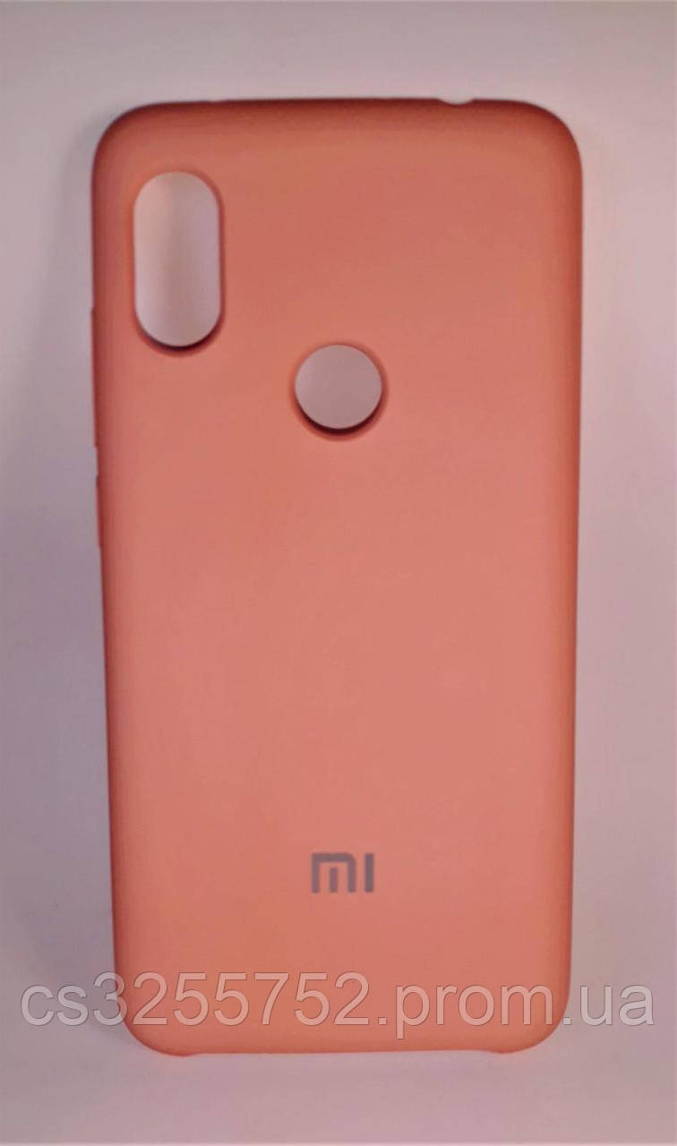 Накладка Silicone Cover for Xiaomi Redmi Note 6 Pro Pink