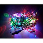 """[ОПТ] Вулична новорічна світлодіодна гірлянда """"Нитка"""" (String) на ПВХ проводі 100LED на 9 м, фото 3"""