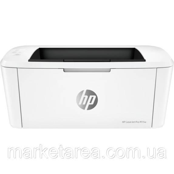 Принтер лазерный HP LaserJet Pro M15w Wi-Fi