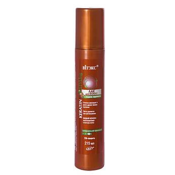 ЛАК для волос с жидким кератином суперсильной фиксации 215 мл.