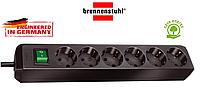 Удлинитель Brennenstuhl Eco-Line на 6 розеток с кнопкой 1,5m