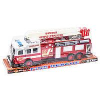 Пожарная машина инерционная с лестницей