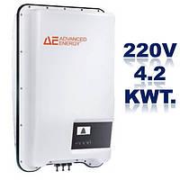 Однофазный стринговый инвертор, AE 1TL4,2.Мощность-4,2 кВт.