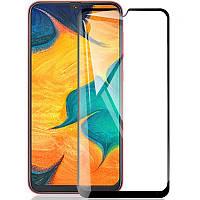Защитное стекло 5D Samsung Galaxy M30s (M307) (Black)