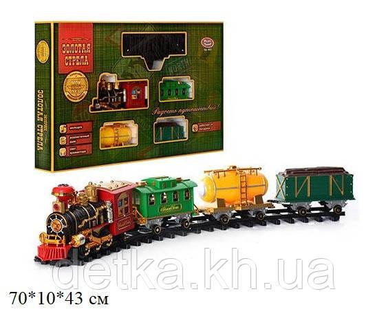 Железная Дорога PLAY SMART 0622 Мой первый поезд на р.у.муз.свет.дым
