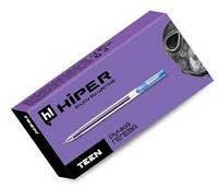 Ручка масляна Hiper Teen Gel GH - 125 (0.6мм) синя 10шт/уп.