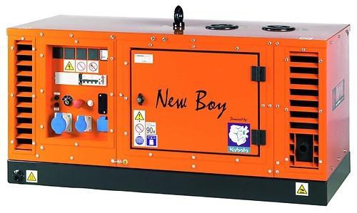 Трехфазный дизельный генератор EUROPOWER New Boy EPS183TDE (18 кВа)