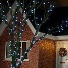 """[ОПТ] Уличная светодиодная новогодняя гирлянда """"Нить"""" (String) на черном(белом) проводе 100LED на 10 м, фото 4"""