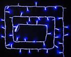"""[ОПТ] Уличная светодиодная новогодняя гирлянда """"Нить"""" (String) на черном(белом) проводе 100LED на 10 м, фото 3"""
