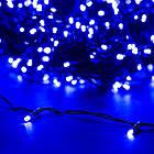 """[ОПТ] Уличная светодиодная новогодняя гирлянда """"Нить"""" (String) на черном(белом) проводе 100LED на 10 м, фото 6"""
