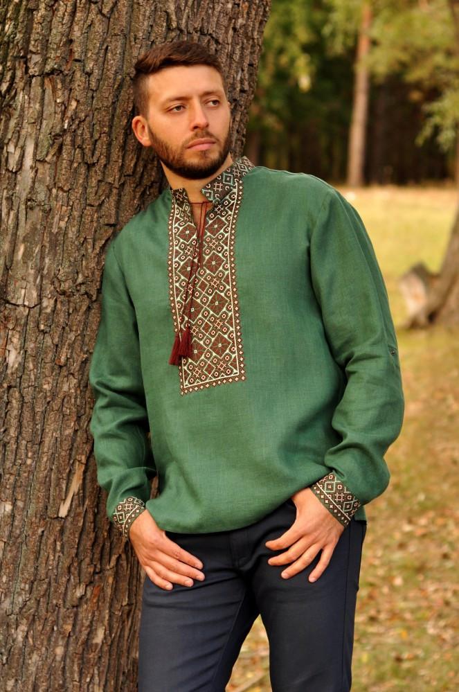 Мужская вышиванка - символ свободы и патриотизма!