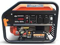 Однофазный бензиновый генератор Daewoo GDA 3300 E (3 кВт)