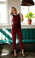 Женский костюм -двойка жилет и брюки,Белорусская одежда