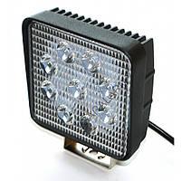 Светодиодная фара AllLight 06T-27W 9chip EPISTAR spot 9-30V (slim)
