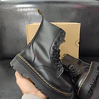 Ботинки  Dr. Martens Jadon Black Чёрный  / Др. Мартенс.Демисезон модели.