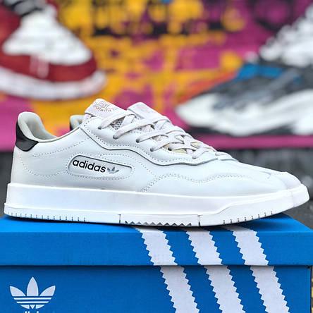 Кроссовки мужские Adidas SC Premiere белые (Top replic), фото 2