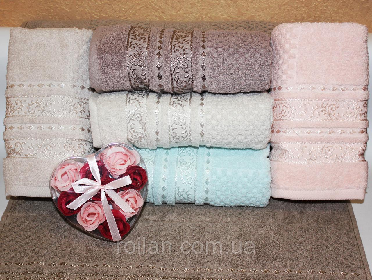 Махровые турецкие банные полотенца
