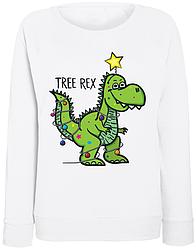 Женский свитшот Tree Rex (белый)