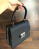 Женская кожаная сумка Италия Люкс , сумки через плечо кросс боди, фото 1