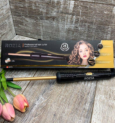 Плойка тонкая для завивки волос афрокудри Rozia HR-776 (10mm) АФРИКАНКА
