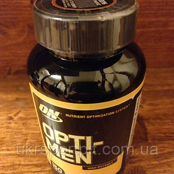 Opti-Men 150 Таблеток Витамины Optimum Nutrition