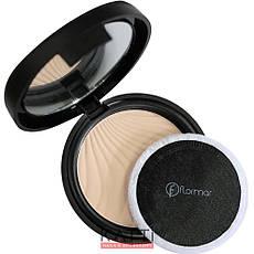 FlorMar - Пудра компактная Compact Powder Тон 95 light porcelain beige, светло бежевая, фото 3