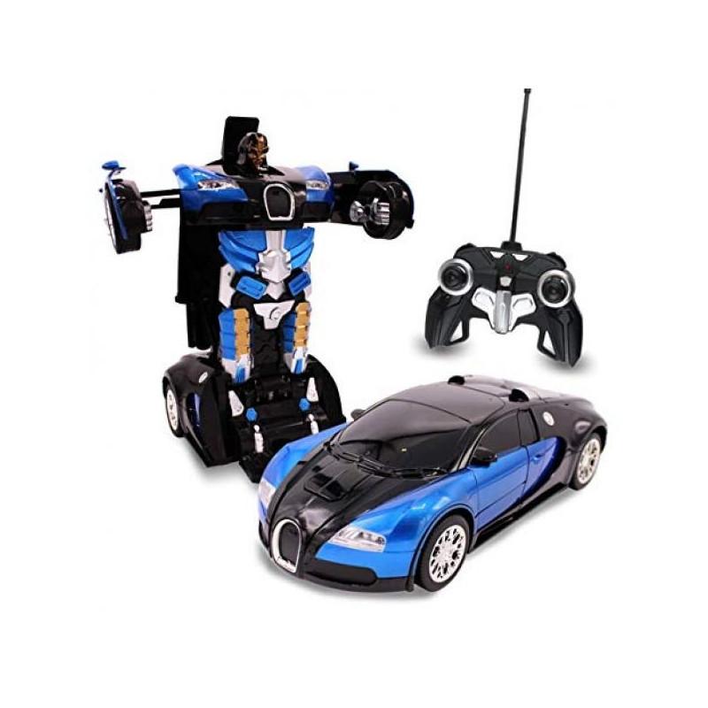 Машинка-трансформер Glorlous Mission Bugatti Veyron на радиоуправлении