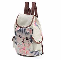 """Стильный рюкзак """"Котенок""""."""