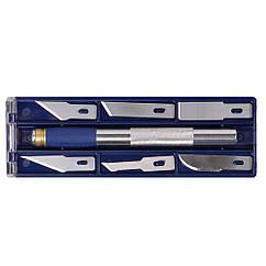 Набор ножей моделярских 6шт + держатель Sigma (8214011)