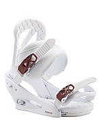 Крепление для сноуборда Burton Stiletto (White) 2020, фото 1