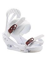 Кріплення для сноуборду Burton Stiletto (White) 2020, фото 1