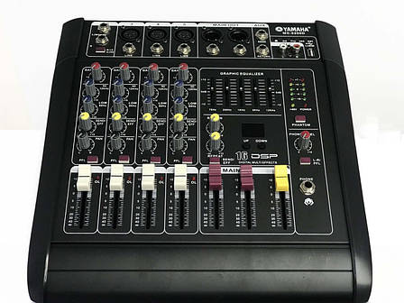 Аудио усилитель, микшерный пульт Yamaha MX-5200D 5 канальный, фото 2