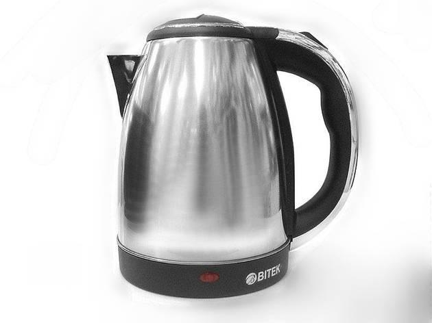 Электрический чайник Bitek 7001 с дисковым нагревательным элементом, фото 2