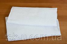 Вафельное полотенце белое 45*30