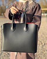 Кожаная женская сумка Италия Люкс Шоппер натуральная кожа, фото 1