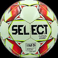 Футзальный мяч Select Futsal SAMBA ST-8152  белый/красный, фото 1