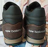 New Balance Winter! Женские  зимние кожаные коричневые полуспортивные ботинки Nb  очень удобные, фото 5
