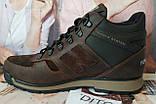 New Balance Winter! Женские  зимние кожаные коричневые полуспортивные ботинки Nb  очень удобные, фото 7