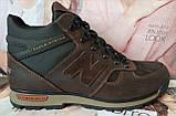 New Balance Winter! Женские  зимние кожаные коричневые полуспортивные ботинки Nb  очень удобные, фото 8