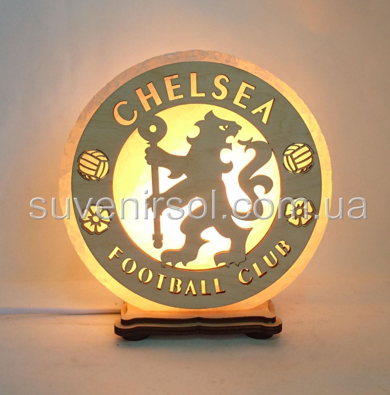 Соляной светильник круглый Челси
